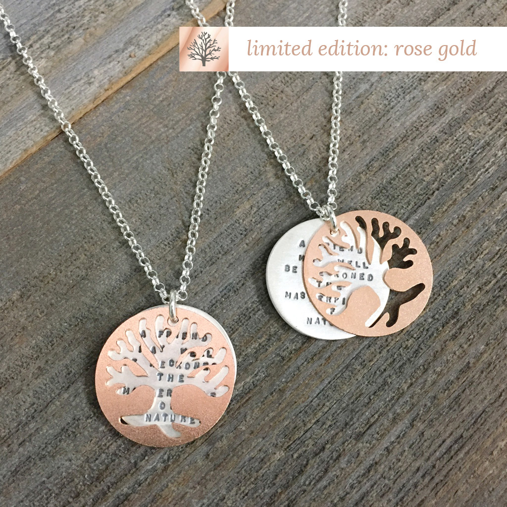 Emerson Tree - Rose Gold